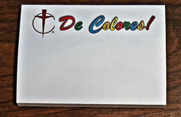 De Colores Notes pad #900